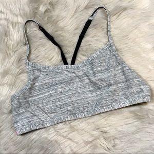 PINK Victoria's Secret strappy back bralette sz L